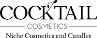 Cocktail Cosmetics Logo Vector