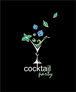 Cocktail Logo Vector