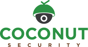 Coconut Security Logo Vector