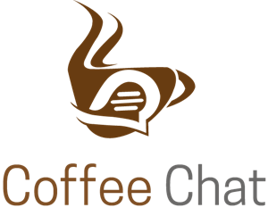 Coffe Chat Logo Vector