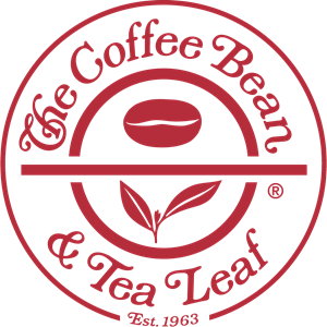 Coffee Bean & Tea Leaf Logo Vector