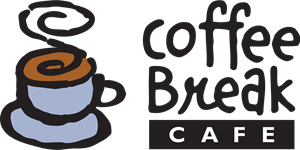 Coffee Break Cafe Logo Vector