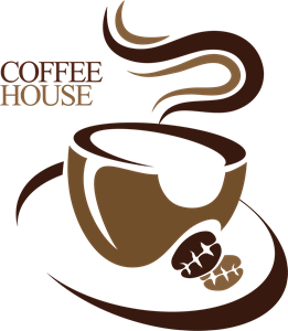 Coffee house creative Logo Vector