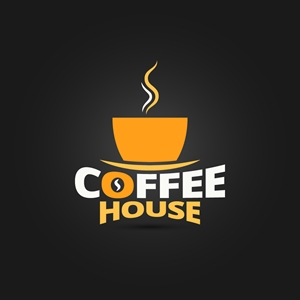 coffee house design Logo Vector
