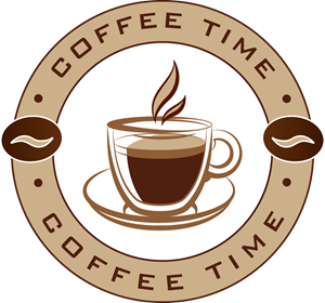 Coffee time Logo Vector