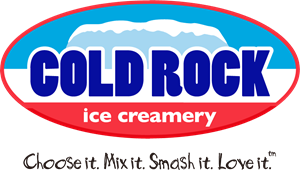 Cold Rock Ice Creamery Logo Vector