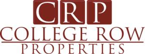 College Row Properties Logo Vector