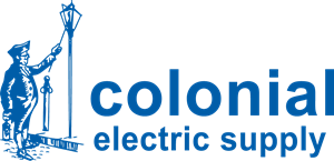colonial electric supply Logo Vector