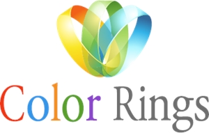 Color Rings Logo Vector