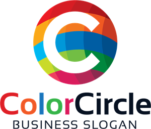 Colorful Letter C Logo Vector