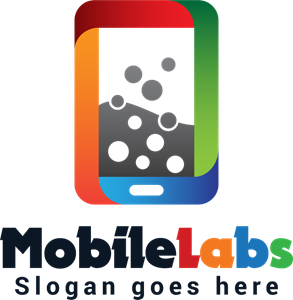 Colorful Mobile Labs Logo Vector