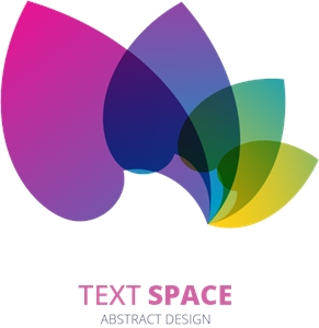 Colorful Petals Logo Vector