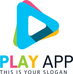 Colorful Play Logo Vector