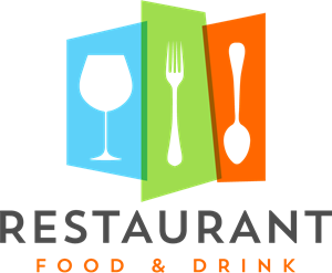Colorful restaurant Logo Vector