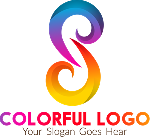 Colorful S Letter Logo Vector
