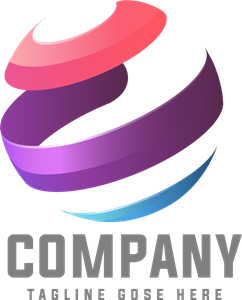 Colorful Technology Company Logo Vector