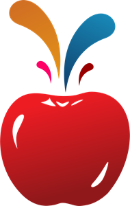 Colour Apple Logo Vector