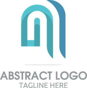 Coloured Abstract Logo Vector