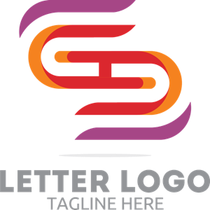 Coloured Letter S Logo Vector