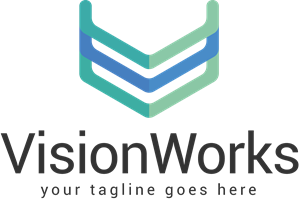 Coloured Vision Works Logo Vector