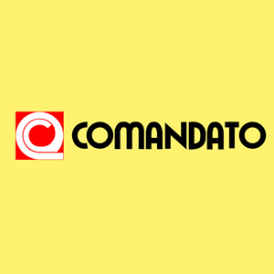 Comandato antiguo horizontal Logo Vector