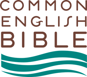 Common English Bible Logo Vector