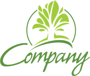 Company Abstract Tree Logo Vector
