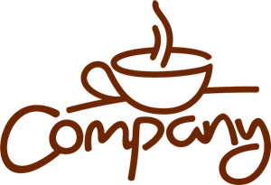Company Coffee Cup Logo Vector