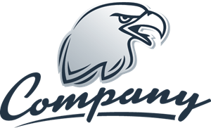 Company Eagle Head Logo Vector