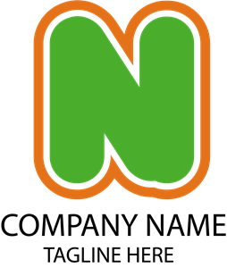 Company N Letter Logo Vector