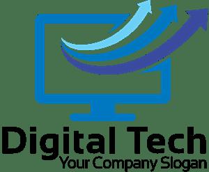 computer shape logo vector eps free download