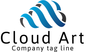 Computing Cloud Logo Vector