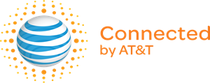 Connected by AT&T Logo Vector