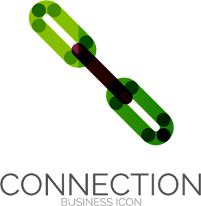 Connection Logo Vector