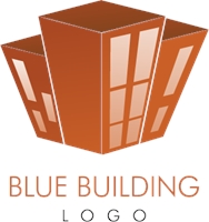Construction Red Building Logo Vector