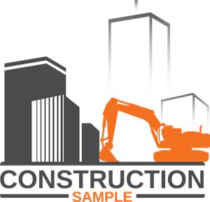 Construction sample Logo Vector