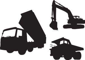 Construction Vehicle Logo Vector