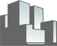 Constructions Glass Building Logo Vector