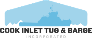 Cook Inlet Tug and Barge Logo Vector