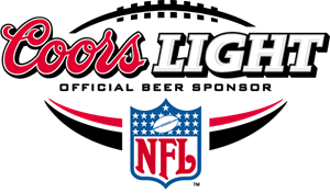 Coors Light NFL Official Beer Sponsor Logo Vector