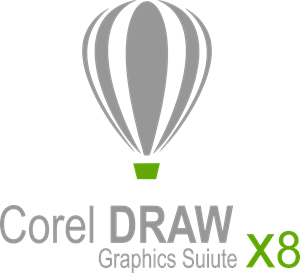 Corel DRAW X8 Logo Vector