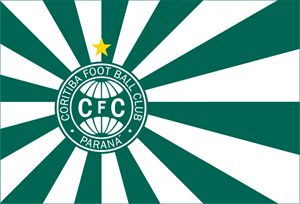 Coritiba Foot Ball Club Official Flag Logo Vector