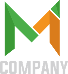 Corporate modern letter M Logo Vector