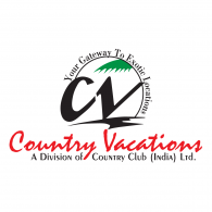Country Vacations Logo Vector