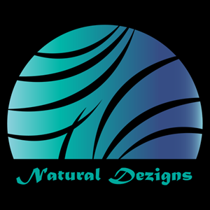 Creative Arc Stripy Circle Nature Logo Vector