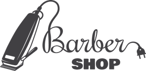 Creative barber shop Logo Vector