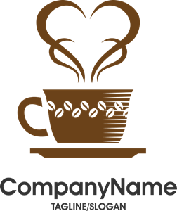 Creative coffee and cafe Logo Vector