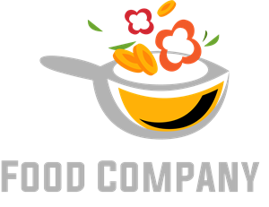 Creative Food Company Logo Vector