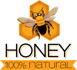 Creative honey Logo Vector
