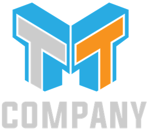 Creative letter M & Double T Logo Vector